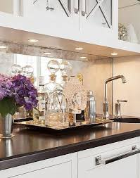 kitchen mirror backsplash best 25 mirror backsplash ideas on backsplash for