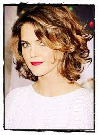 why is my hair curly in front and straight in back keri russell short hair melanie dalbey my hair would never be