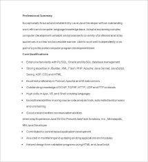 Developer Resume Samples by Java Developer Resume Template Resume Sample