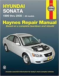 free online car repair manuals download 2009 hyundai accent parking system hyundai sonata haynes repair manual 1999 2008 haynes amazon com