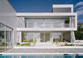 Flat Roof Modern House Architecture Luxury Modern House With Minimalist Pool And Awesome