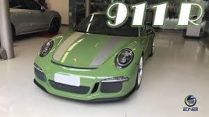 porsche 911 green porsche 911 r pts olive green 04 03 17 youtube