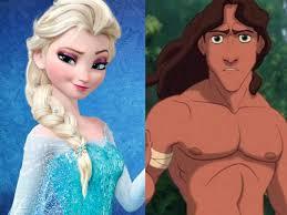princesses ana elsa frozen related tarzan insider