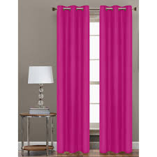 Magenta Curtain Panels Pink Curtains U0026 Drapes Window Treatments The Home Depot