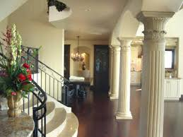 interior columns for homes eye for design decorating with columns