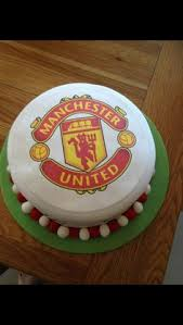 bolo manchester united realizados pinterest