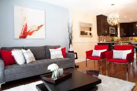Red Accent Decor - Red accent chair living room
