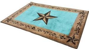 Turquoise Kitchen Rugs Western Turquoise Bath Kitchen Rug 2 X 3 West Living