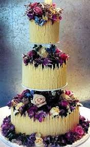 wedding cake jogja 3 tier chocolate wedding cake iced in chocolate ganache