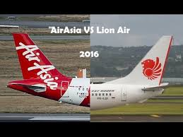 lion air airasia vs lion air 2016 youtube