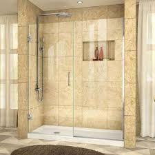 Lasco Shower Door Pivot Hinged Shower Doors Showers The Home Depot