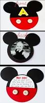 mickey mouse invitations you u0027ll need zip dry glue cardstock 12x12