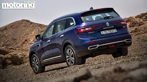 renault koleos 2014 2017 renault koleos reviewmotoring middle east car news reviews