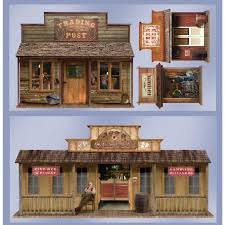 western theme home decor 5 u0027 wild west town props wall add ons wild west birthdays and