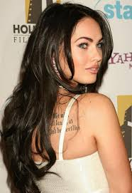 megan fox with a long layered hairstyle hairstyles u0026 haircuts