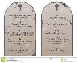 ten commandments tablets royalty free stock image image 5548826