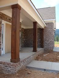 Front Porch Post Wraps by New Posts Or Could Wrap Existing Bogard House Ideas Pinterest