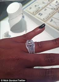 browns wedding rings houston and bobby brown wedding unearthed daily