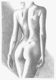 woman female figure graphite drawing sketch portrait realism