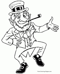 leprechaun coloring pages free pertaining to invigorate cool