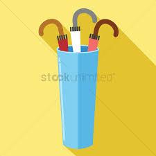 umbrella holder vector image 1406498 stockunlimited
