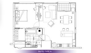 in suite plans srinakrarin serviced residence hotel vertical suite floor plans