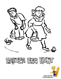 handsome easter basket coloring pages free easter baskets