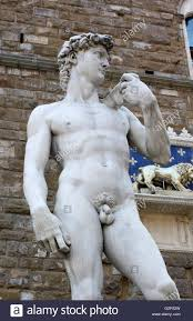 David Sculpture A Replica Of Michelangelo U0027s Masterpiece U0027david U0027 Stock Photo