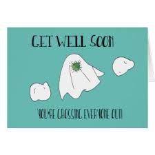 card for sick person sick person greeting cards zazzle