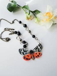 flowers with butterfly necklace images Nikkotakko jewelry flowers and butterflies