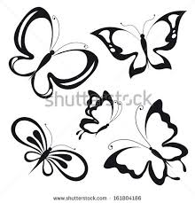 butterflies design stock vector 161804186