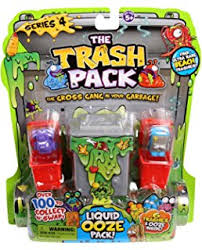 moose toys series 2 trash pack fizz bag feature pack