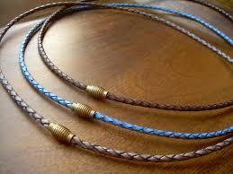 men necklace leather images Men 39 s leather necklaces urban survival gear usa jpg