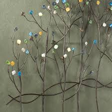 amazon com gemstone forest wall sculpture home u0026 kitchen