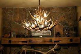 fake deer antler chandelier designs home design ideas