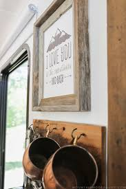 our favorite way to hang wall decor in a rv mountainmodernlife com