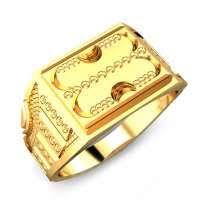 men gold ring buy mens gold ring online best price designs candere