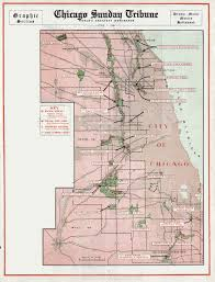 Chicago Suburb Map by Chicago U0027s Forest Preserves
