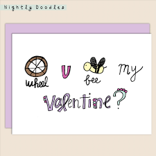 punny valentines day cards punny valentines day card jenipher lyn nightly doodles