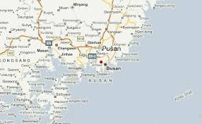 pusan on map busan weather forecast