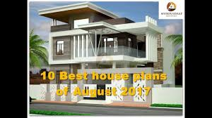 10 Best house plans of August 2017  Indian home design ideas  YouTube