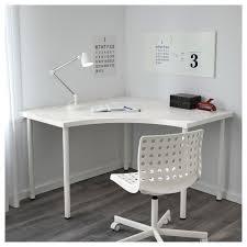 White Corner Writing Desk by Adils Linnmon Corner Table White 120x120 Cm Ikea