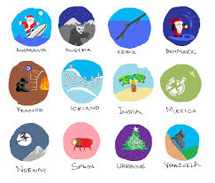 winter holidays around the world clipart 40