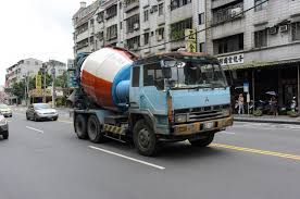 mitsubishi truck 2016 file mitsubishi fuso the great cement mixer truck at section 4
