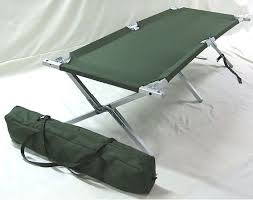 Folding Camp Bed Mod Army Issue Folding Camp Bed Cot With Aluminium Frame And Carry