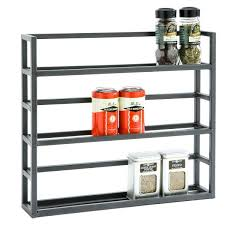 Diy Magnetic Spice Rack Wall Mounted Spice Rack Diy Wall Mounted Wooden Spice Racks For