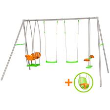 si ge b b pour portique balancoire portique portique en bois paprika trigano m pour enfants