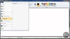 microsoft paint set dimensions to document windows 7 youtube