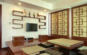 Japanese Living Room Furniture Japanese Style Living Room Furniture Wooden Table On Beige Carpet