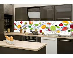küche rückwand küchenrückwand folie obst 260 x 60 cm dimex line de